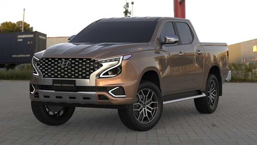 2022 Hyundai Tarlac Rendering Proposes Ford Ranger Competitor