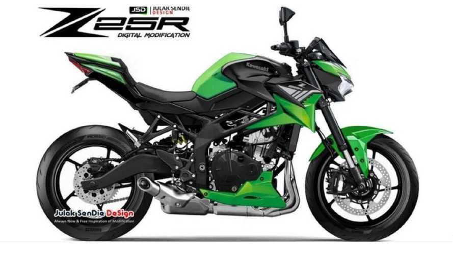 Kawasaki Z 25R, la piccola naked 4 cilindri è più di una suggestione