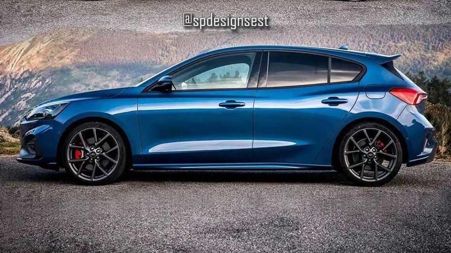 Ford Focus ST Renderings
