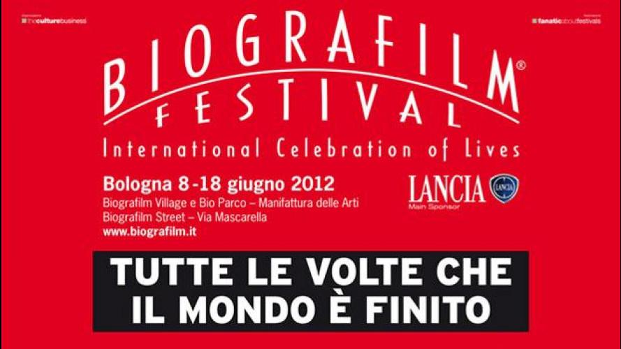 "Lancia è main sponsor di ""Biografilm Festival - International  Celebration of Lives"""