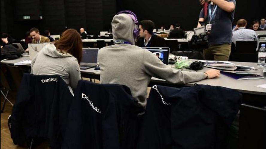Salone di Ginevra 2015, problemi di connessione...