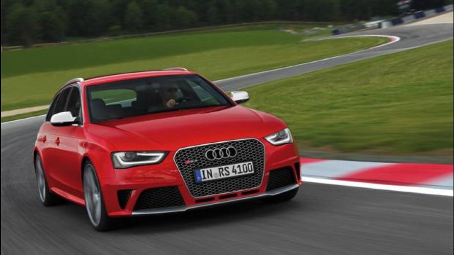 "Audi RS 4 Avant, una station ""a prova di pilota"""