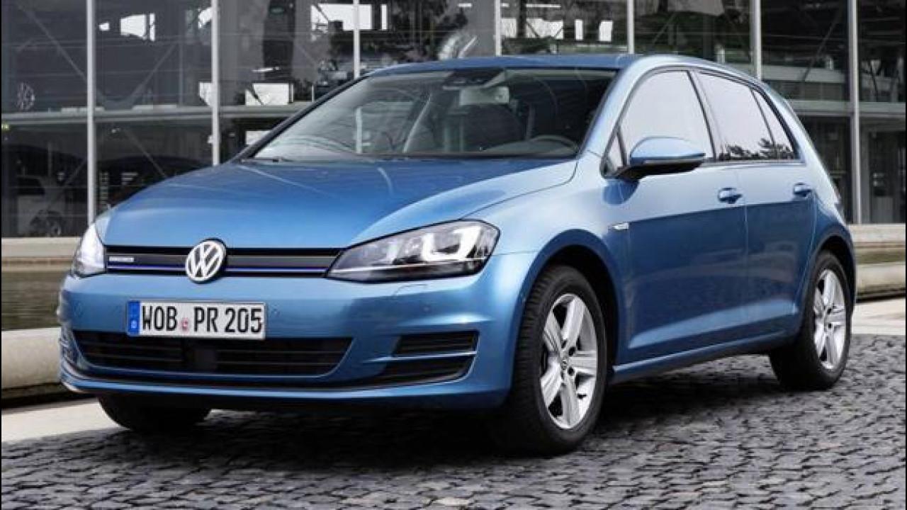 [Copertina] - Volkswagen Golf TGI BlueMotion
