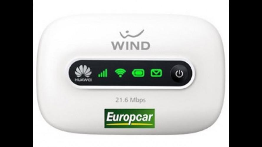 Internet in automobile, con il noleggio la connessione è illimitata