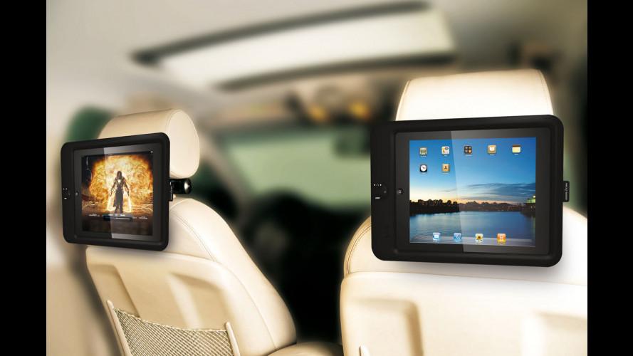 Con l'iPad sul poggiatesta ogni auto è limousine