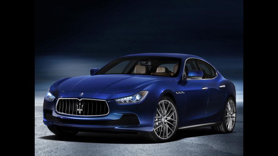 Maserati Ghibli, nuove foto
