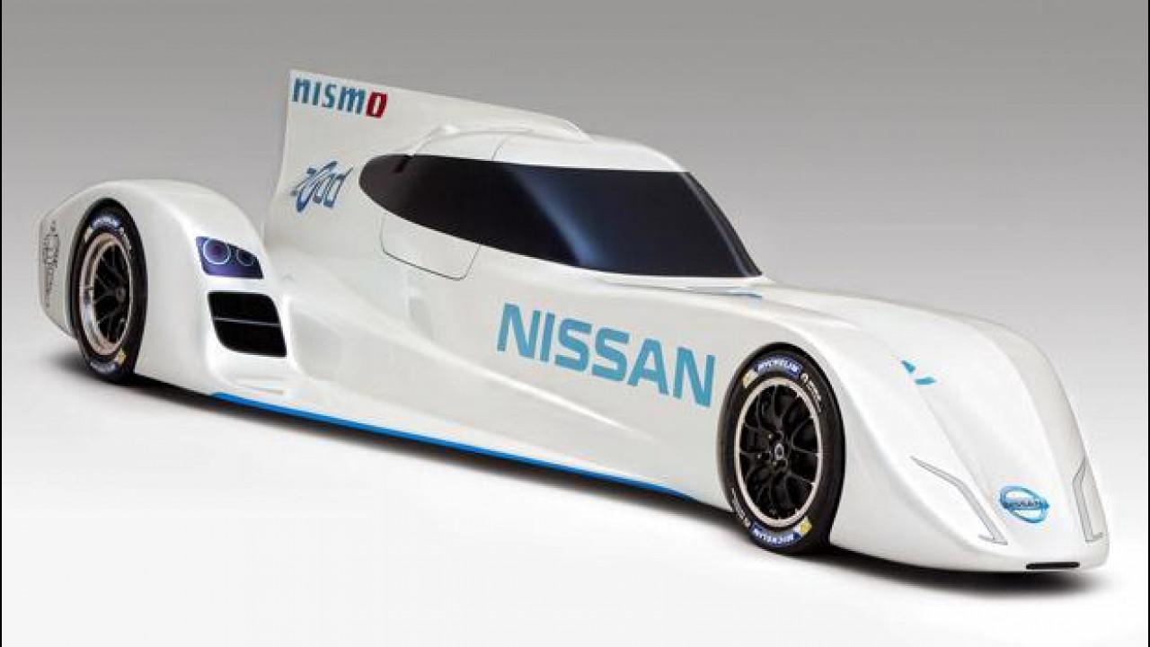 [Copertina] - Nissan ZEOD RC, l'elettrica da 300 km/h per Le Mans 2014