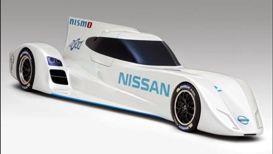 Nissan ZEOD RC, l'elettrica da 300 km/h per Le Mans 2014