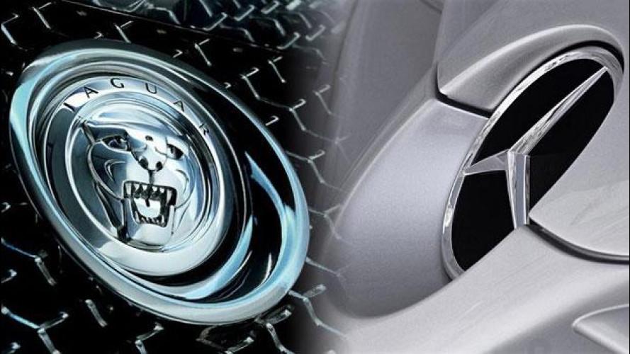 JD Power 2012: Jaguar la marca preferita dagli utenti inglesi, Mercedes da quelli tedeschi