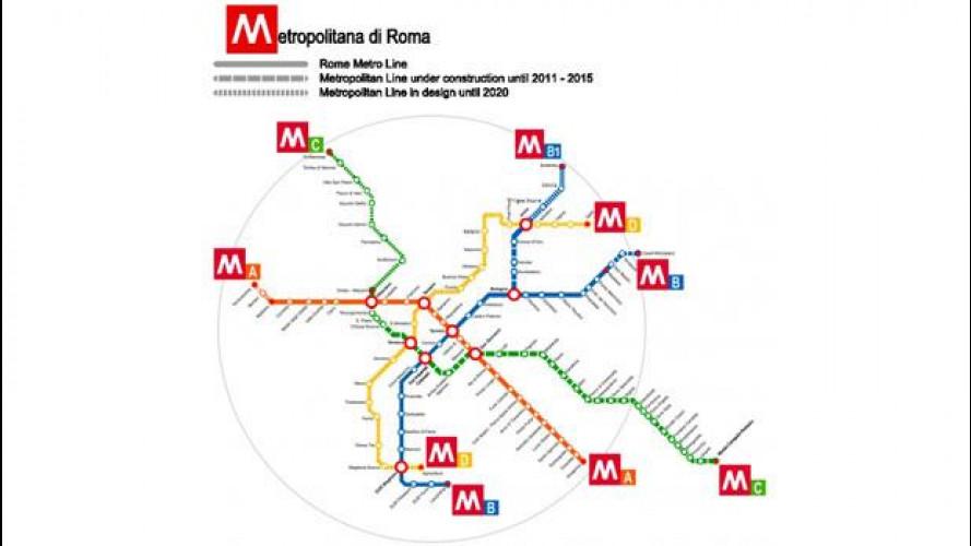 [Copertina] - Trasporto pubblico, a Roma è caos per la Metro B1