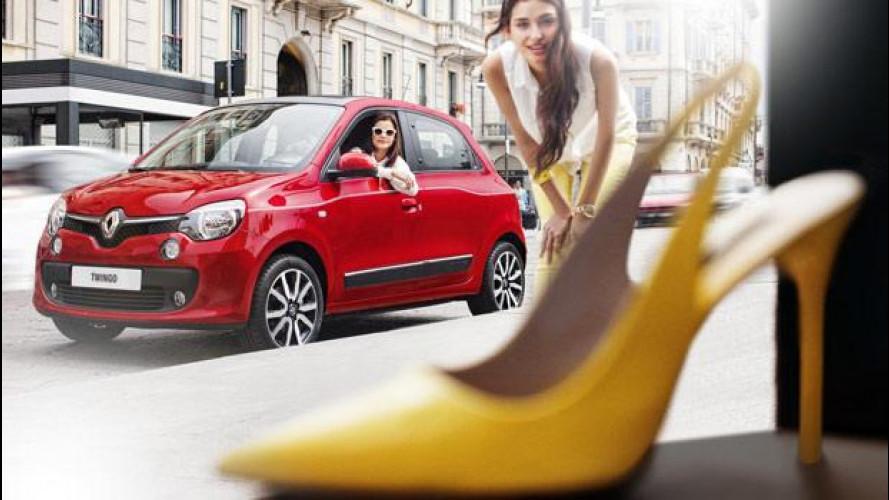 "Nuova Renault Twingo, fotografata ""strana"" da Dingo"