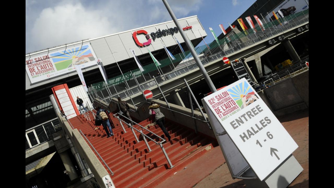 Salone di Ginevra 2012 - Dietro le quinte