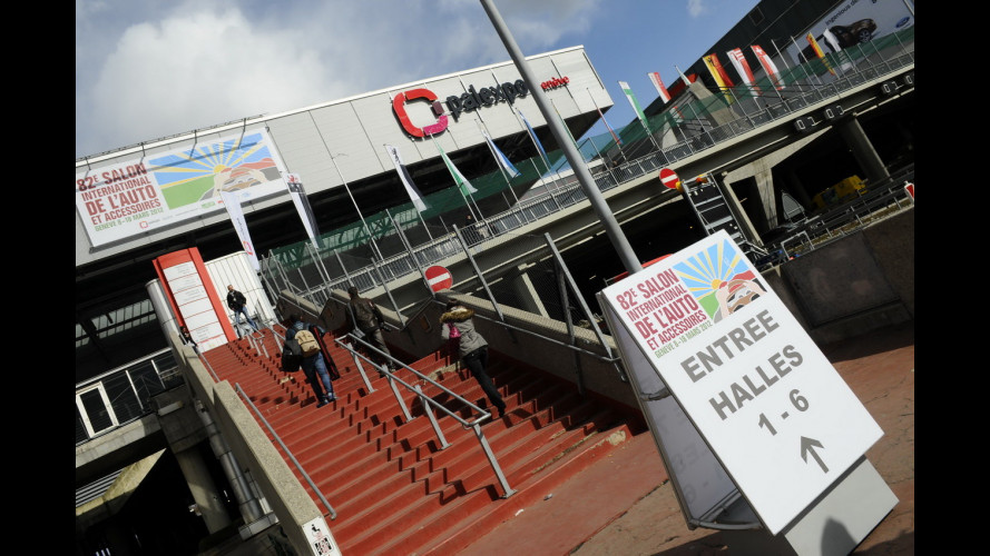 Salone di Ginevra 2012, dietro le quinte