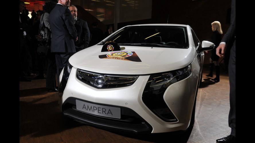 Auto dell'Anno 2012: vincono Opel Ampera e Chevrolet Volt