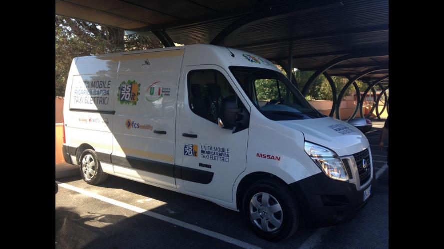 Nissan Leaf, come funziona il primo servizio di taxi elettrico in Italia