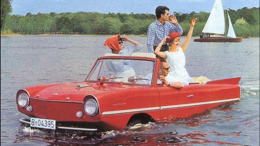 Le incredibili (ma vere) auto acquatiche