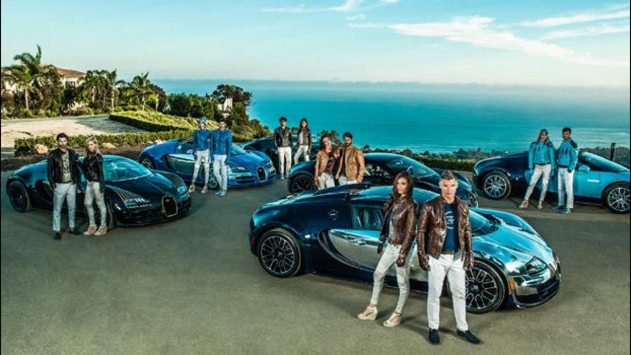 [Copertina] - Bugatti, le sei Leggende da 13,18 milioni di euro ora sono… vestiti!