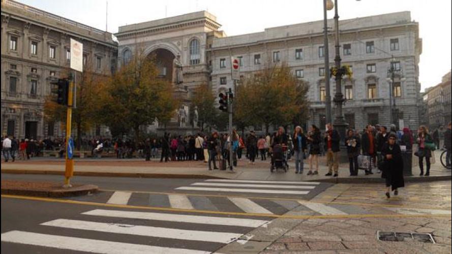 Blocco del traffico a Milano domenica 17 marzo