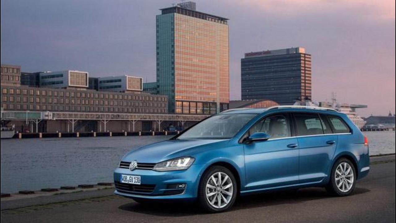 [Copertina] - Nuova Volkswagen Golf Variant, listino prezzi della station wagon da 19.600 euro