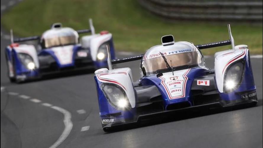 Toyota, con l'elettrico dietro a Le Mans