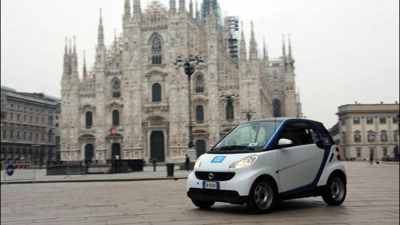 [Copertina] - Car2go arriva a Milano con una flotta di 450 smart fortwo