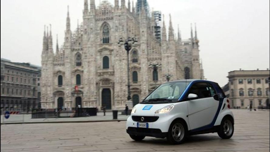 Car2go arriva a Milano con una flotta di 450 smart fortwo