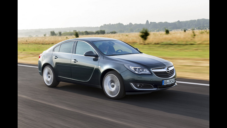 "Opel Insignia restyling, infotainment tattile con il ""mouse"""