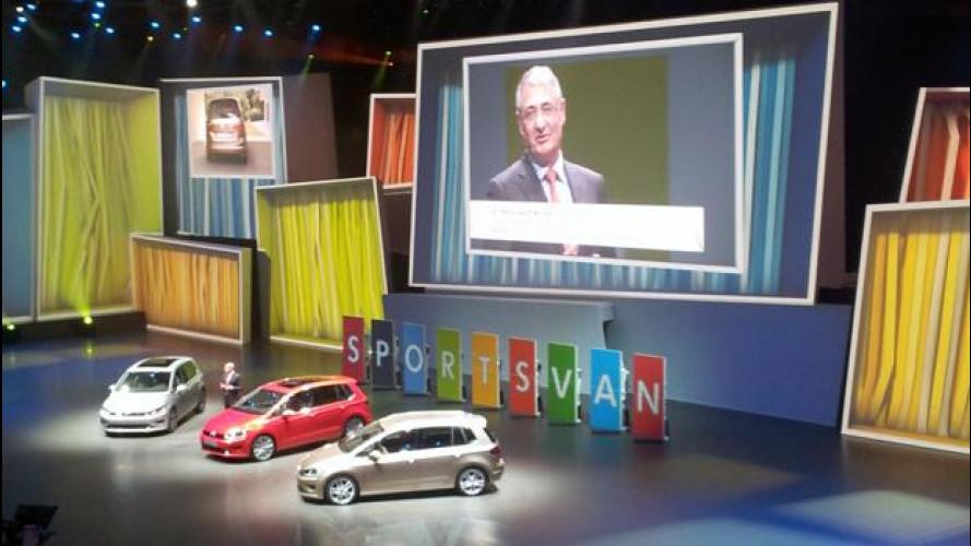 Salone di Francoforte, cronaca della Volkswagen Group Night