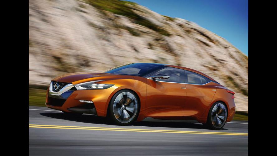 Nuova Nissan Maxima, l'hanno fatta strana