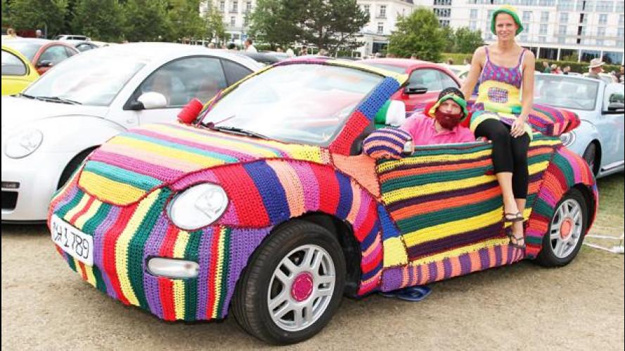 Una Maggiolino rivestita in lana vince il Beetle Sunshine Tour 2013