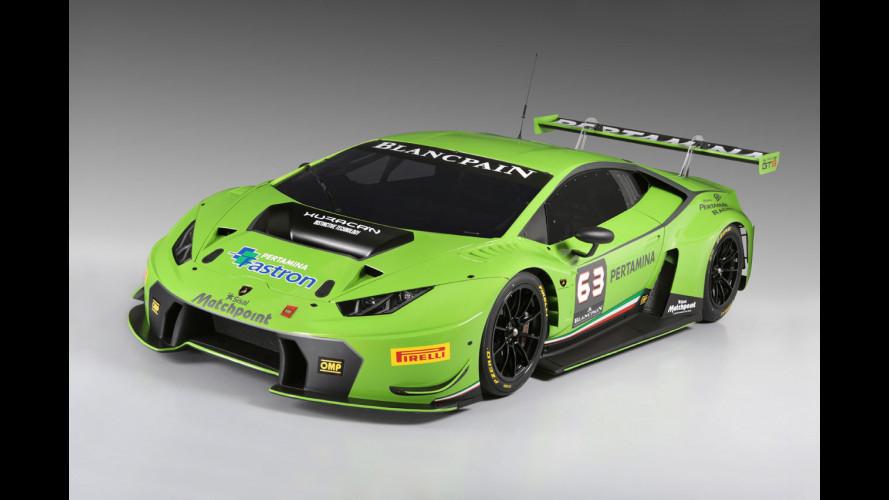 Lamborghini Huracan GT3, pronta per correre