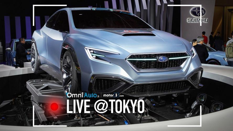 Subaru Viziv Performance Concept, per chi si sente rallysta