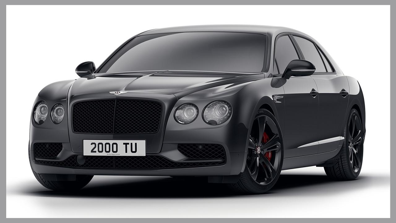 [Copertina] - Bentley Flyng Spur V8 S Black Edition, il lato oscuro del lusso