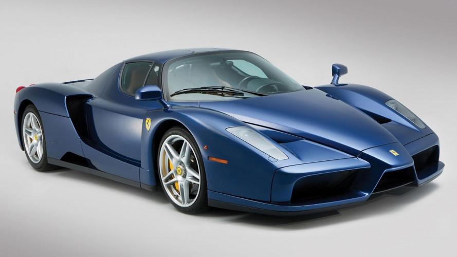 Ferrari Enzo, quella in Blu Tour de France è unica