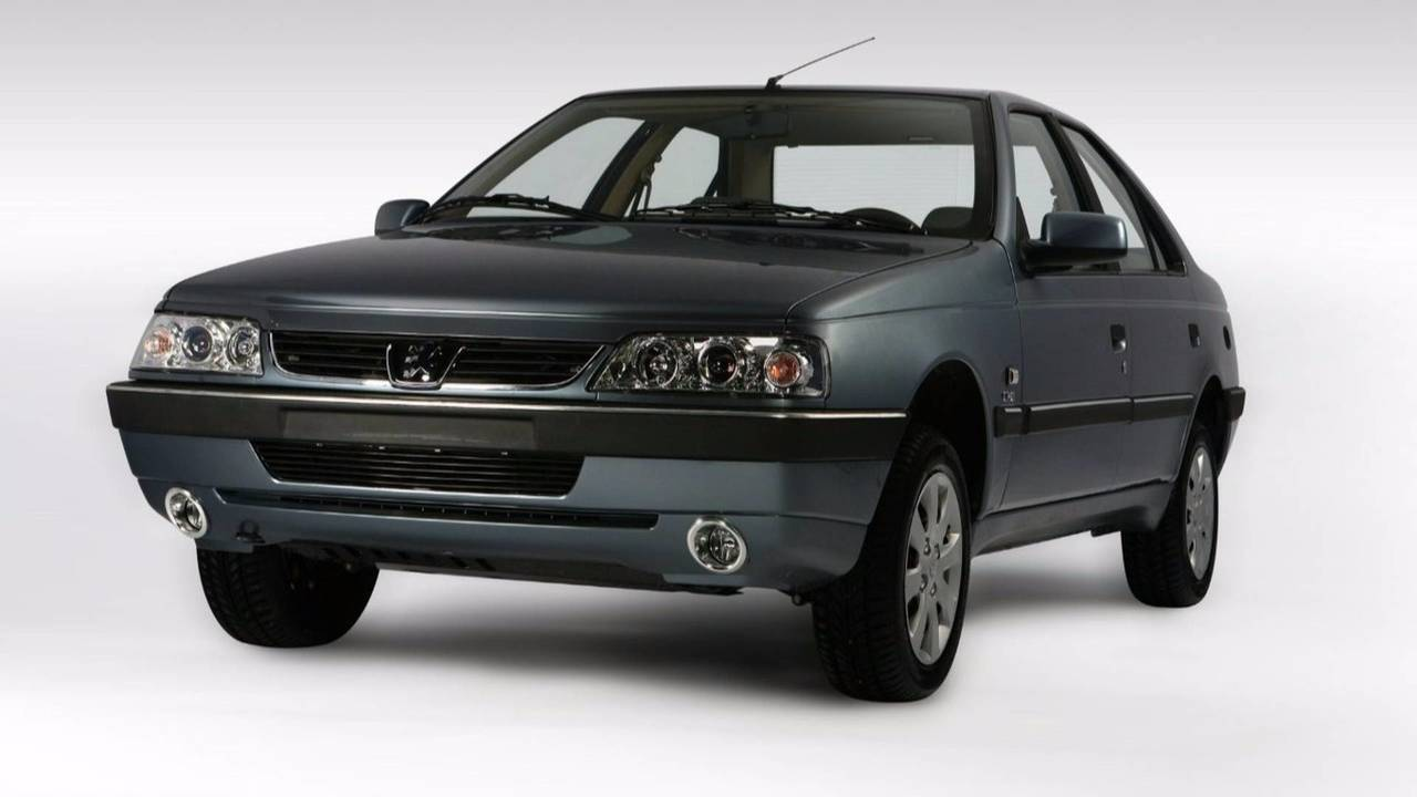 Peugeot 405, Iran, Groupe PSA