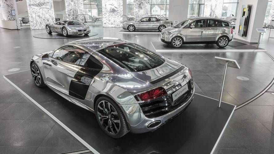 Audi Exhibit Puts The Spotlight On Aluminum Construction