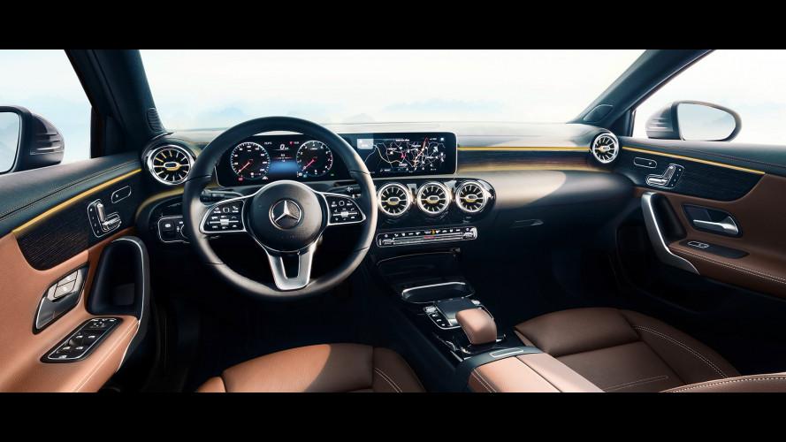 Nuova Mercedes Classe A, ecco com'è dentro