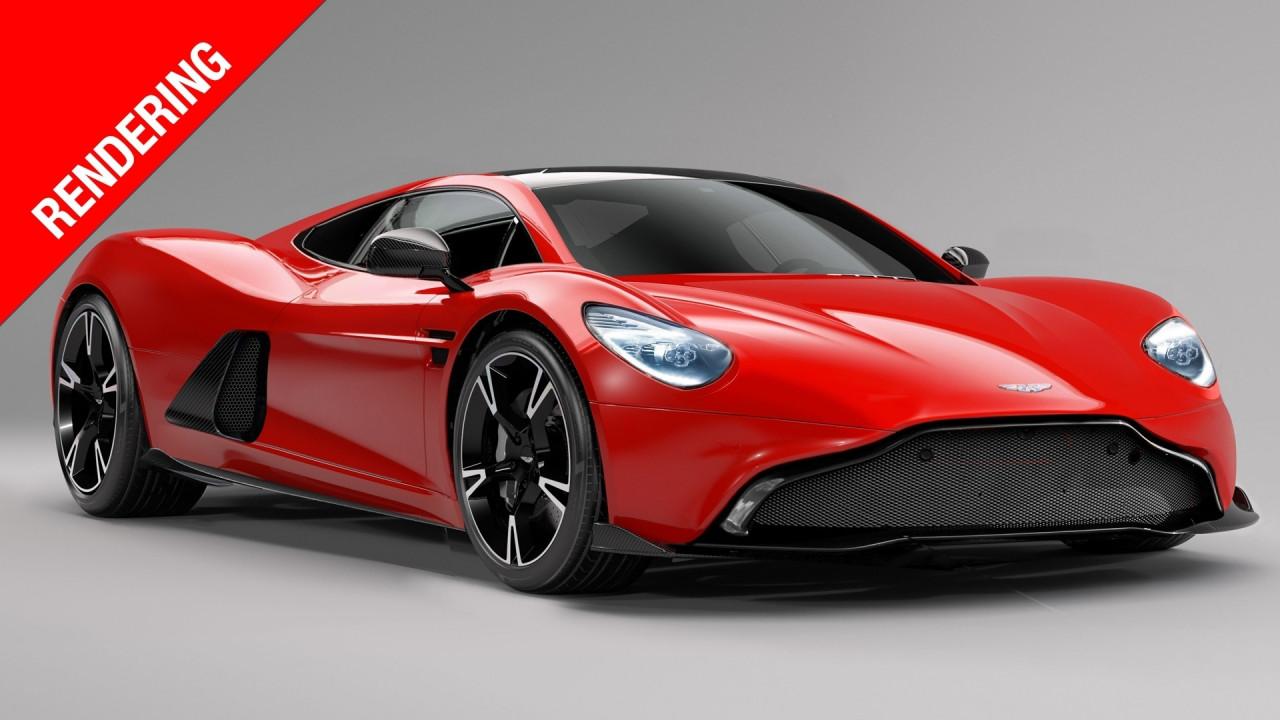 [Copertina] - Aston Martin a motore centrale, sul trono della sportività