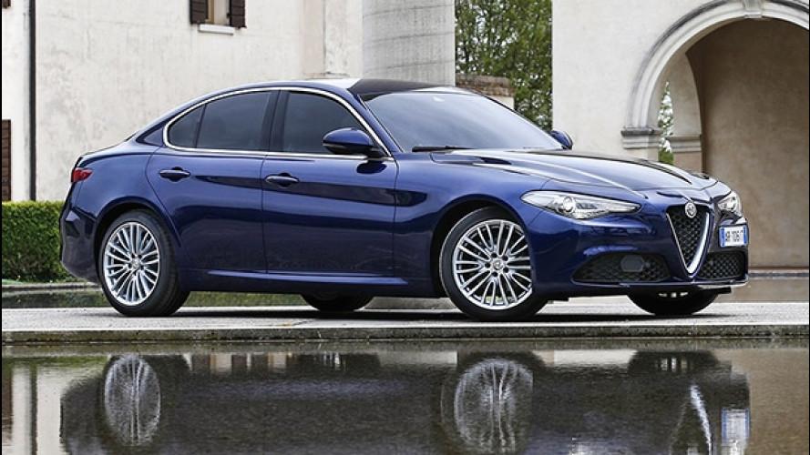 Alfa Romeo Giulia, è l'ora del porte aperte