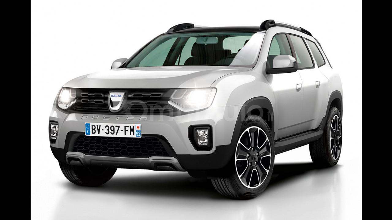 Nuova dacia duster c 39 posto per sette for Dacia duster 7 posti