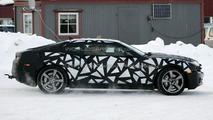 2009 Camaro on snow in Scandinavia