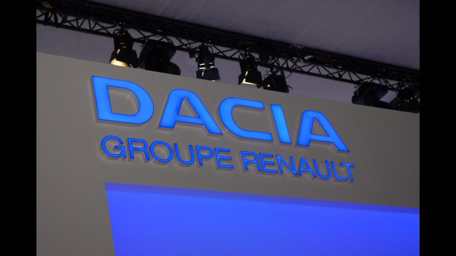 Dacia al Salone di Parigi 2010