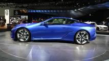 Lexus LC 500 In Structural Blue LA Auto Show LIve Photos