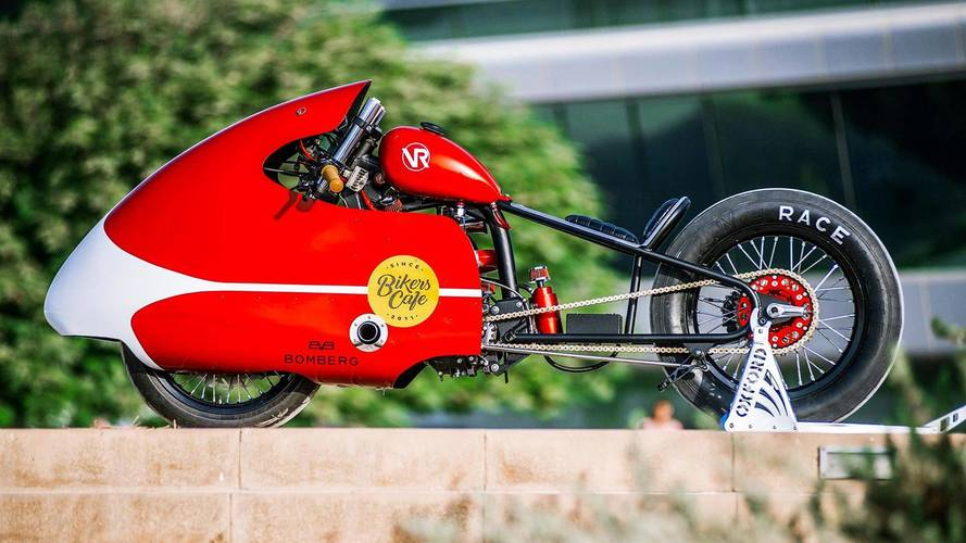 Dubai's VR Customs Builds Turbocharged Pizza Delivery Bike