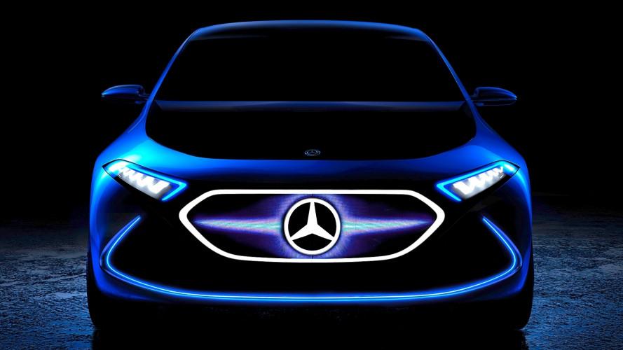 Mercedes Concept EQ A, a Francoforte debutta una nuova elettrica