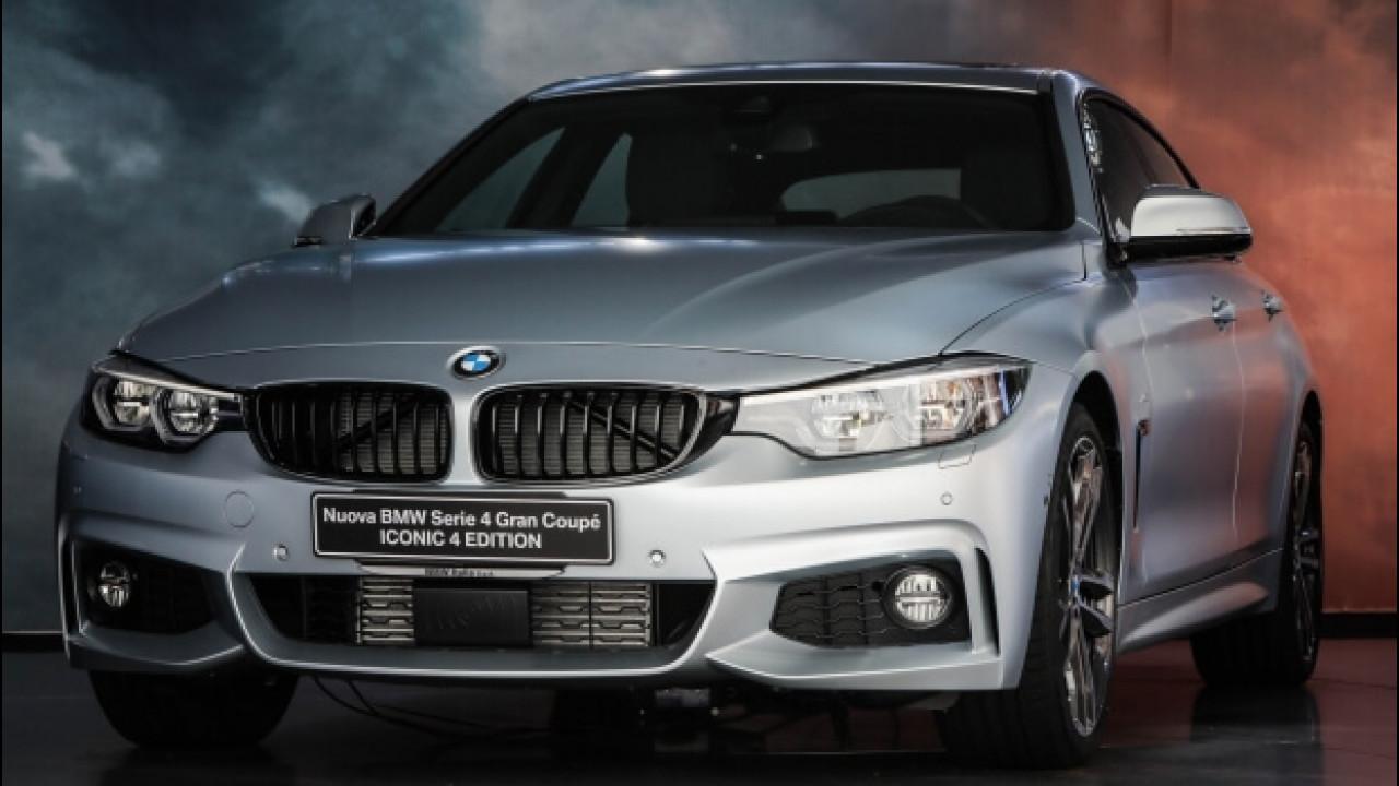 [Copertina] - BMW Serie 4 Gran Coupé Iconic 4 Edition, tanto stile per pochi