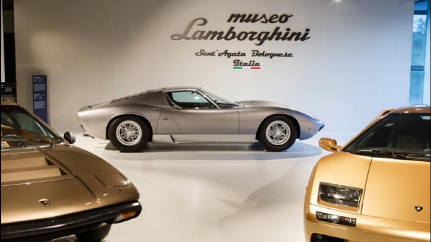 Lamborghini, il Miura Tour inaugura il nuovo museo del Toro