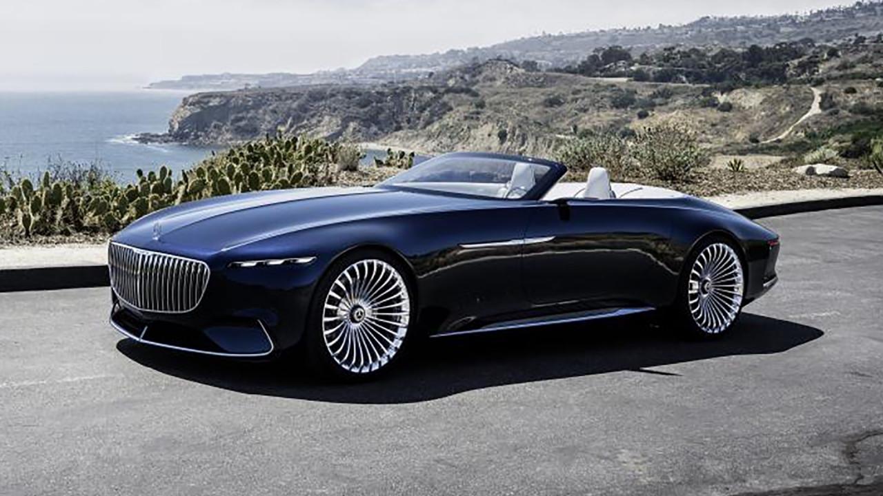 [Copertina] - Mercedes-Maybach Vision 6 Cabriolet, il lusso elettrico di domani