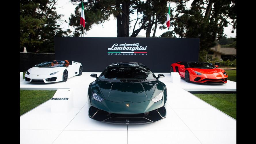 Lamborghini Ad Personam, a Pebble Beach tre modelli personalizzati