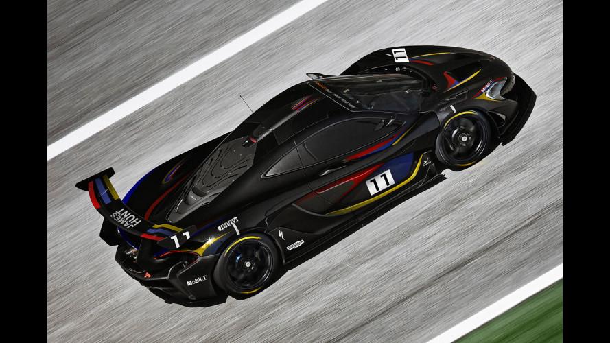 McLaren P1 GTR, omaggio a James Hunt